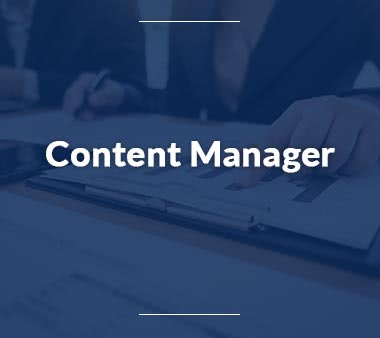 Content Manager Jobs