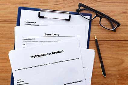 Motivationsschreiben-Bewerbung