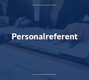 Rechtsreferendar Personalreferent