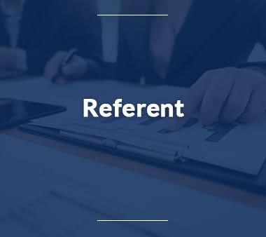 Rechtsreferendar Referent