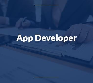 App Developer Berufe mit Zukunft