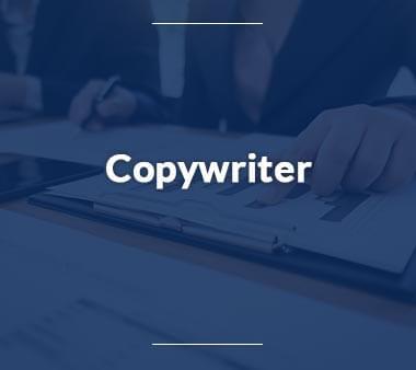 Copywriter Kreative Berufe