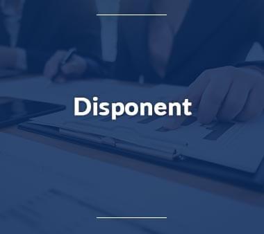 Disponent Bürojobs