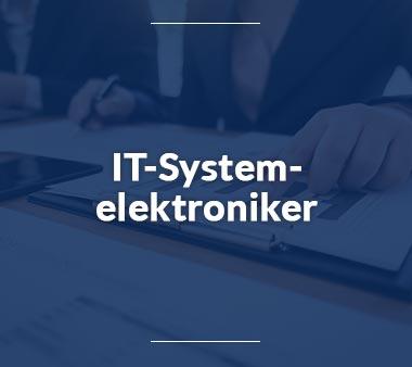 IT-Systemelektroniker IT-Berufe
