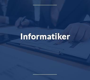 Informatiker IT-Berufe