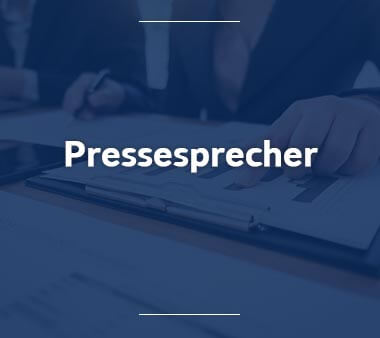 Pressesprecher Bestbezahlte Berufe