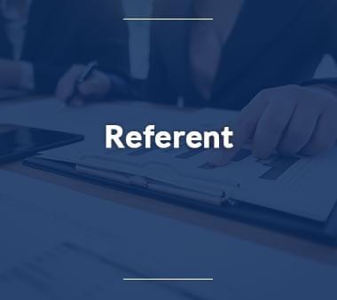 Referent Bürojobs
