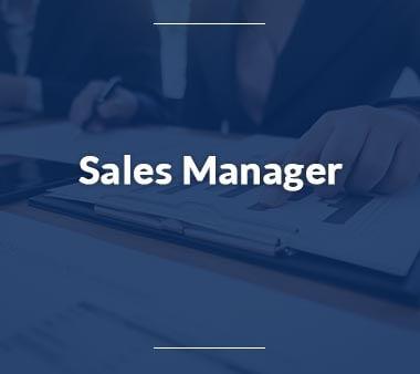 Sales Manager Bürojobs