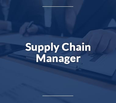 Supply Chain Manager Bürojobs