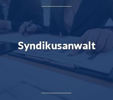 Syndikusanwalt Bürojobs
