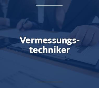 Vermessungstechniker Technische Berufe