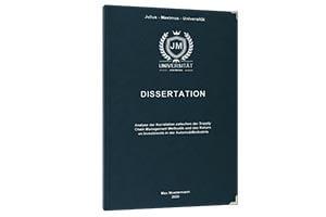 Zweitstudium Dissertation drucken lassen